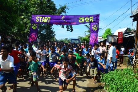 Khel Vikas hosts 5K run in Berhampur