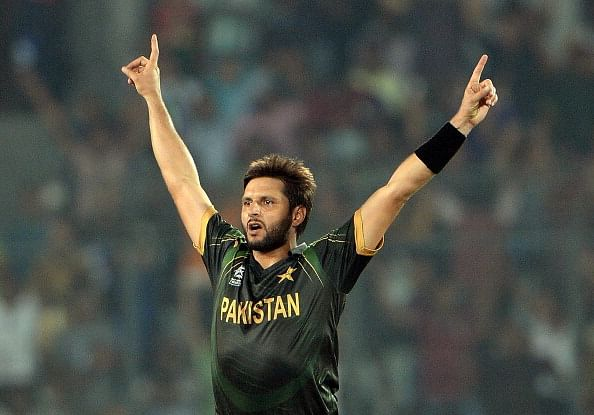 Shahid Afridi named new Pakistan T20 captain