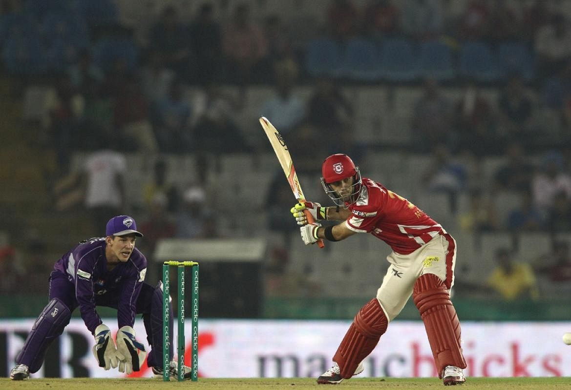 CLT20: KXIP vs Hobart Hurricanes: Moments of the Match