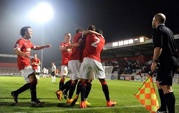 Video: Adnan Januzaj scores brilliant free-kick goal to send a message to Van Gaal