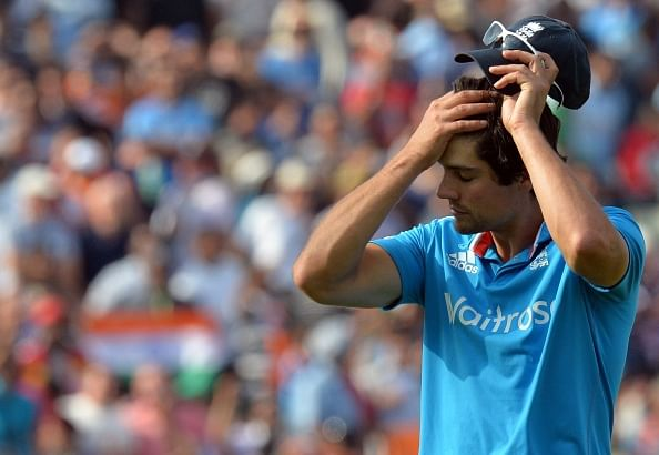 Why Alastair Cook desperately needs lessons from MS Dhoni in learning to control his emotions