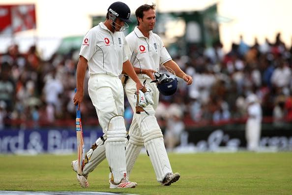 Michael Vaughan accuses Alastair Cook of dropping players better than him