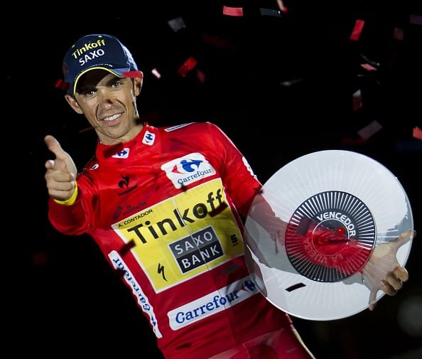 Alberto Contador wins 'La Vuelta' Tour of Spain for the third time