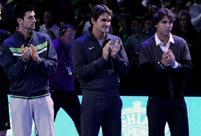 Statistical comparison: National records of Roger Federer, Rafael Nadal and Novak Djokovic