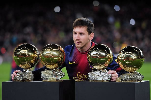 Top  Quotes On Lionel Messi Slide