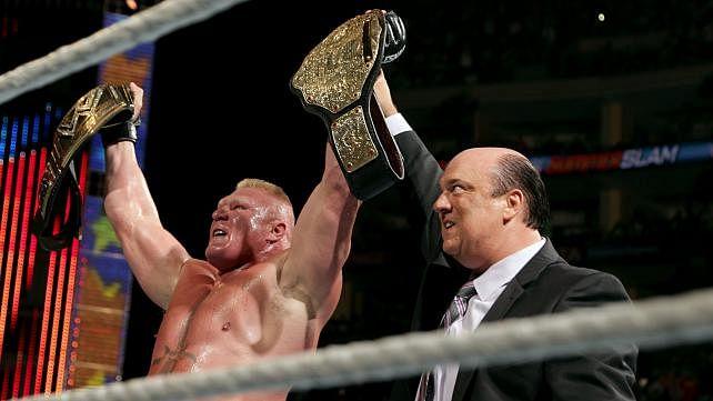 Why Brock's run as champion makes more sense than The Rock's