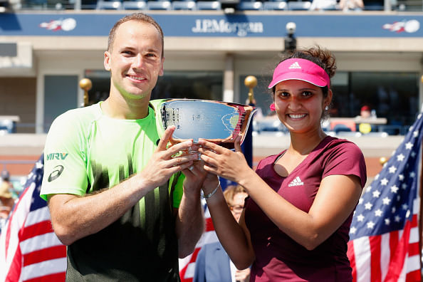 Sania Mirza wins 2014 US Open mixed doubles title with Bruno Soares