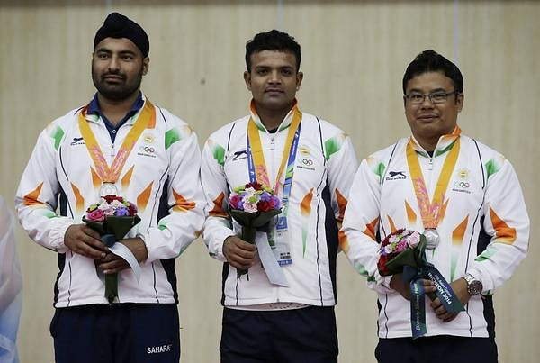 Asian Games 2014: Indian men's team clinches silver in 25m center fire pistol