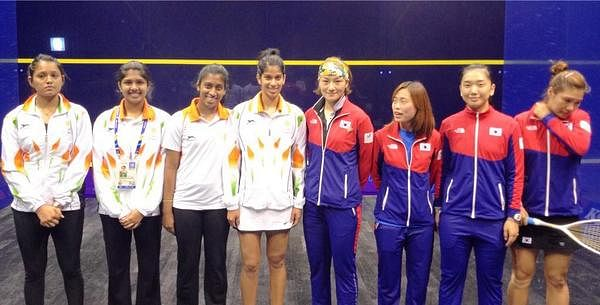 Asian Games 2014: Indian women's squash team reaches final