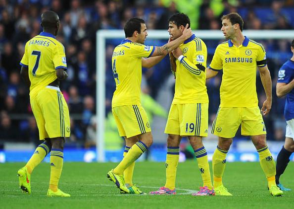 Chelsea players on international duties this week