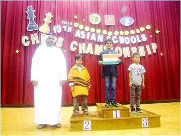 Raahil Mullick, seven-years-old Indian boy wins gold at Asian chess championship
