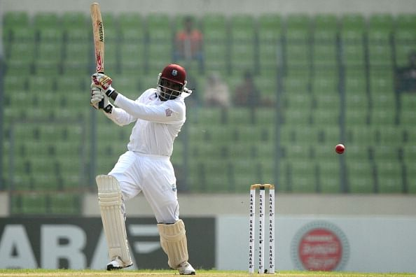 No Chris Gayle for second Test against Bangladesh