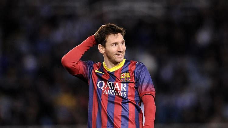 Lionel Messi ranked no.1 in FIFA 15 player ratings