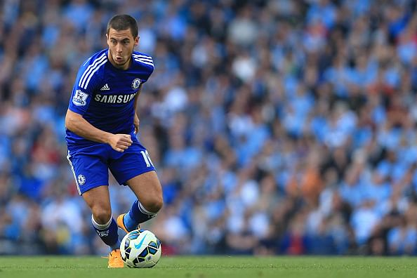 Chelsea's Eden Hazard talks about links with PSG