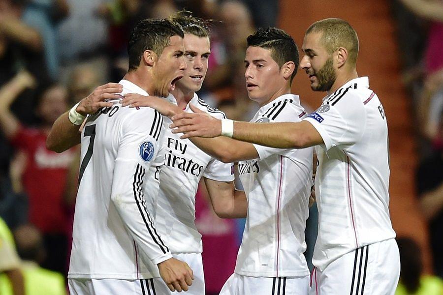 Highlights: Basel 1-5 Real Madrid