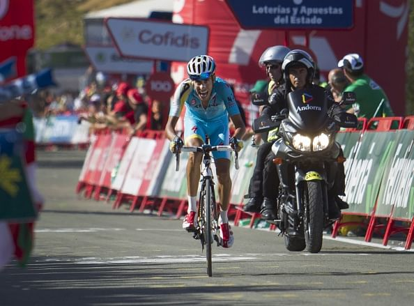 Contador retains lead, Fabio Aru wins stage 11 of Vuelta de Espana