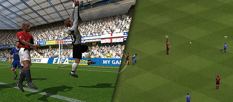 Evolution of EA SPORTS FIFA over the last 15 years