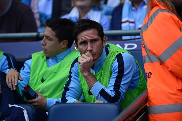 Video: Manchester City's Frank Lampard scores equaliser against Chelsea