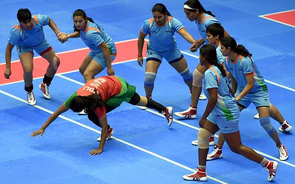 Asian Games: Indian women's kabaddi team in semis