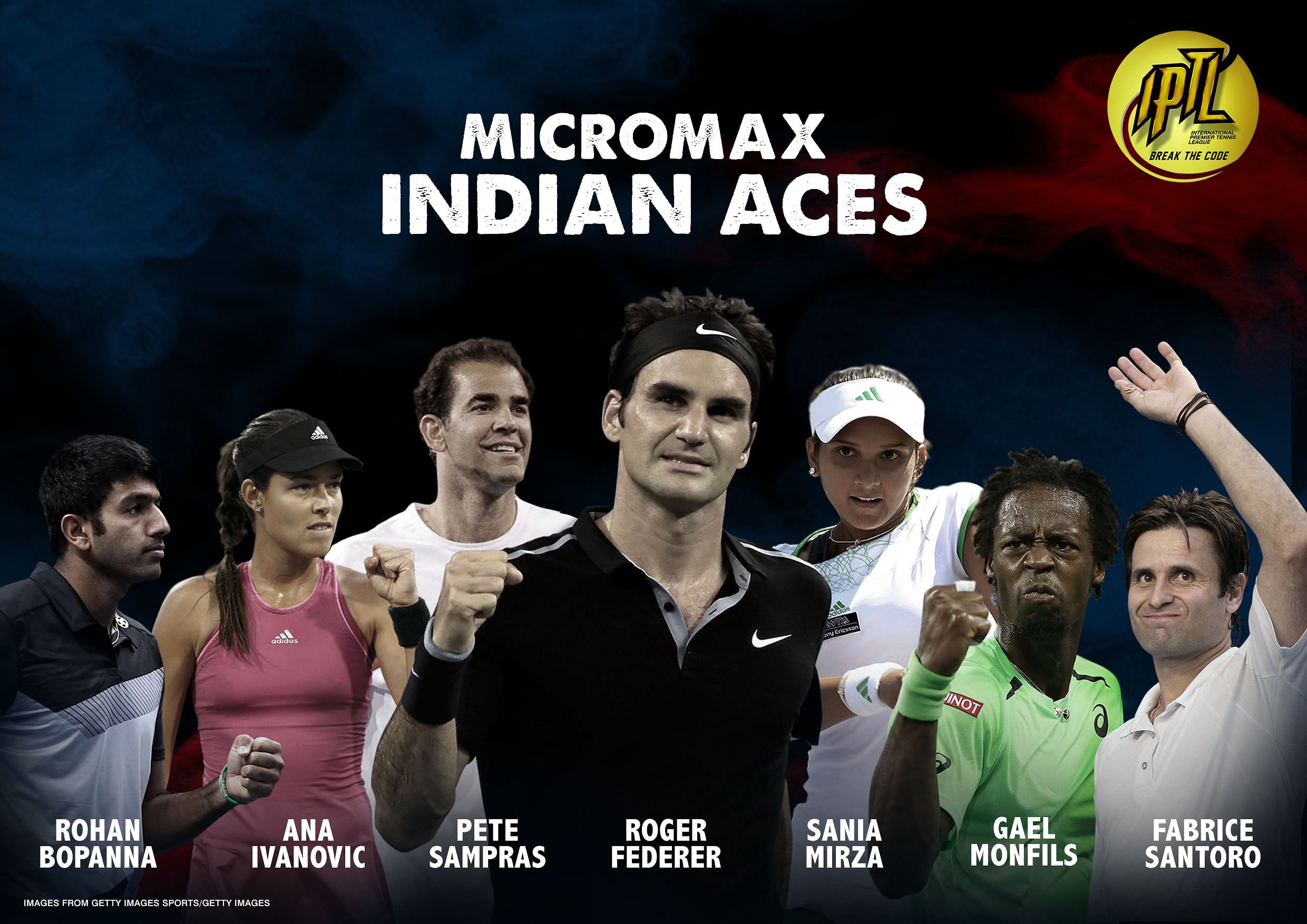 Roger Federer to lead Indian Aces at International Premier Tennis League