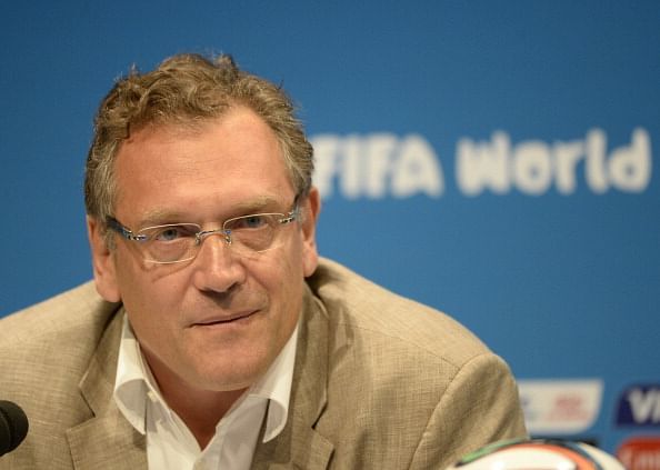 FIFA Secretary General Jerome Valcke favours Goal Line Technology but opposes video replays