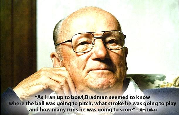 10 best quotes on Sir Donald Bradman