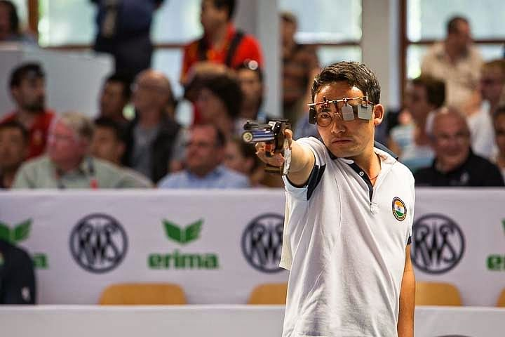 Jitu Rai qualifies for 2016 Rio Olympics with a silver at the World Championships
