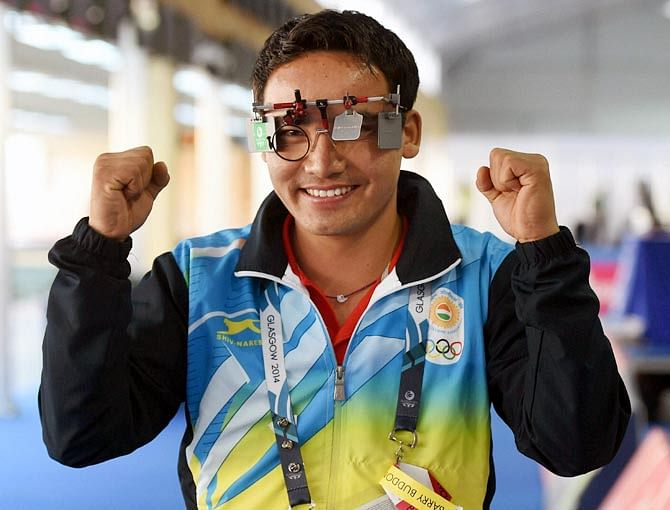 India's rising shooting star - Jitu Rai