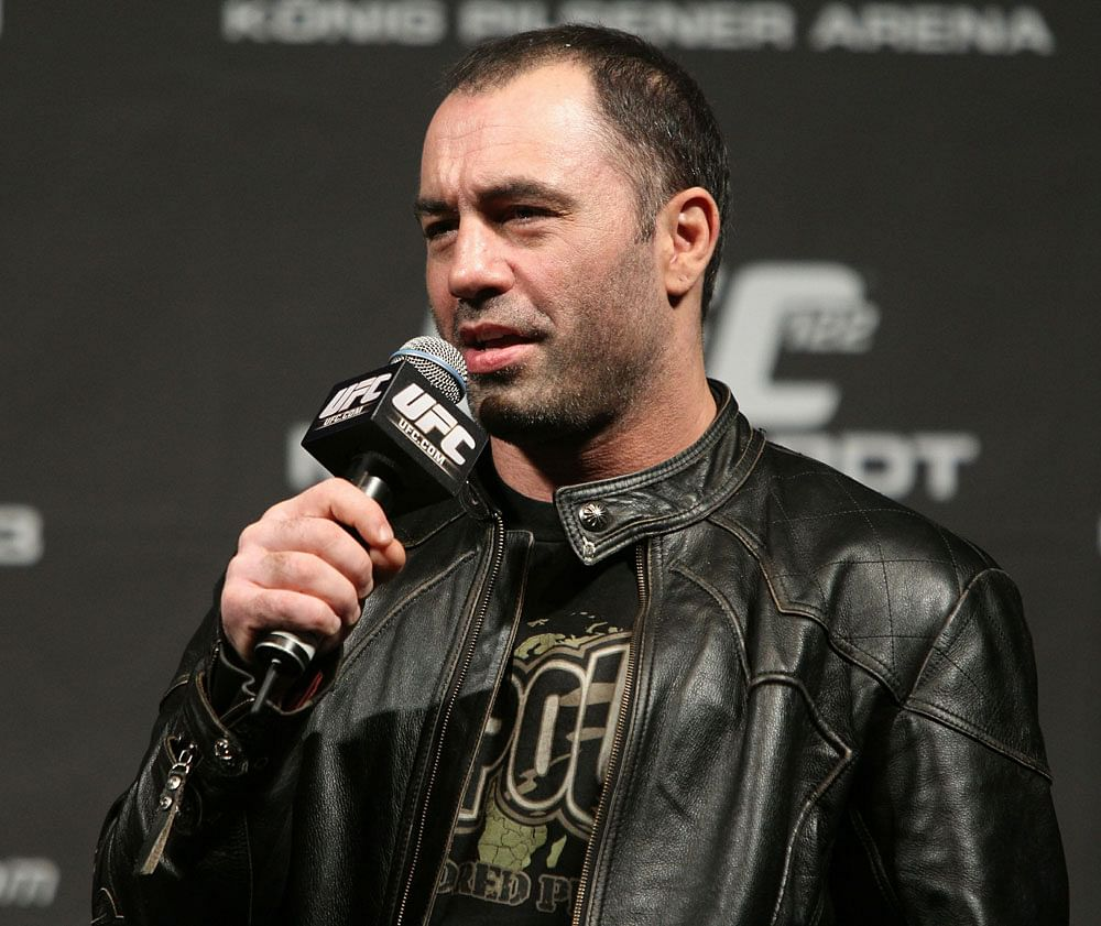 UFC's Joe Rogan takes a jab at WWE and pro wrestling fans