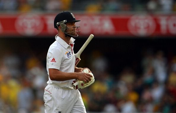 Jonathan Trott dismisses Mitchell Johnson's role in early Ashes exit