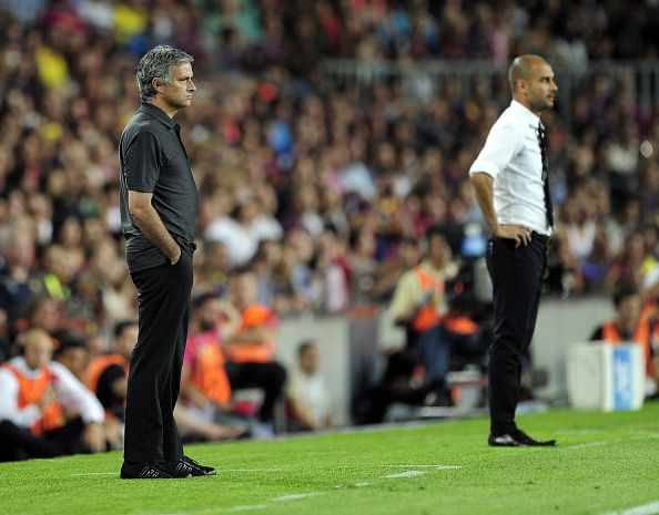 War of words between Jose Mourinho and Pep Guardiola in Nyon