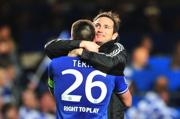 The day when Lampard's fiancee embarrassed John Terry