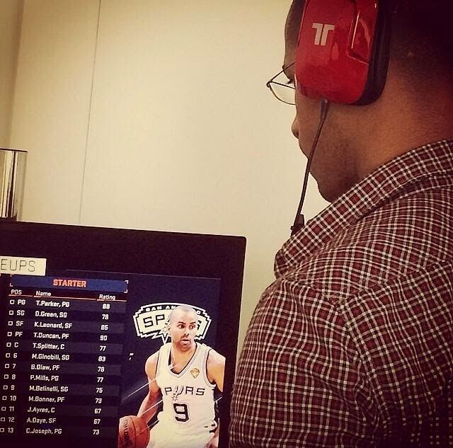 Leaked picture shows that Tim Duncan is rated 90 in NBA 2K15