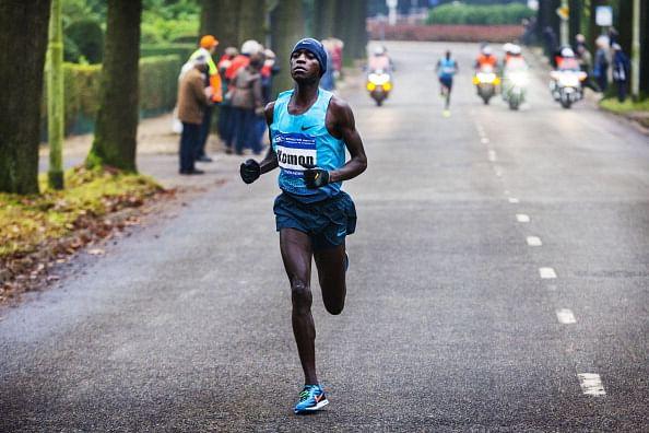 World record holder Leonard Komon eyes Eindhoven marathon title