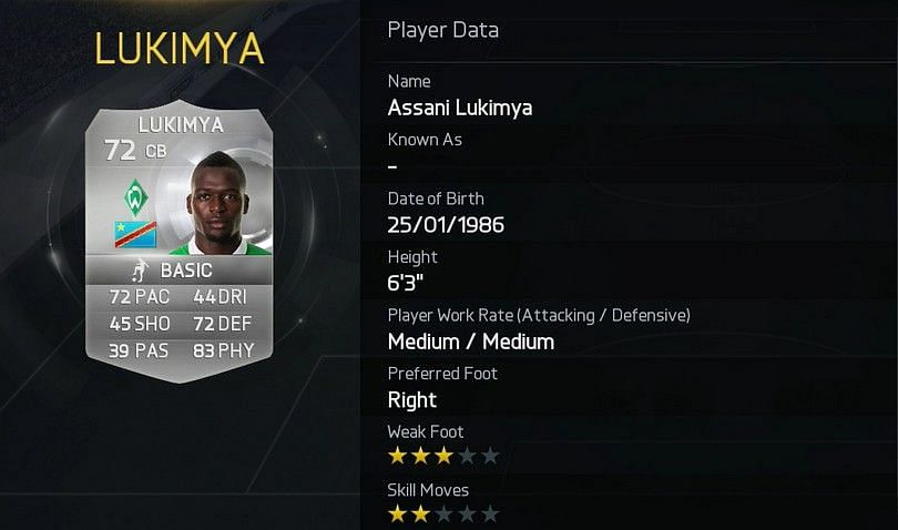 Top 10 Strongest players in FIFA 15