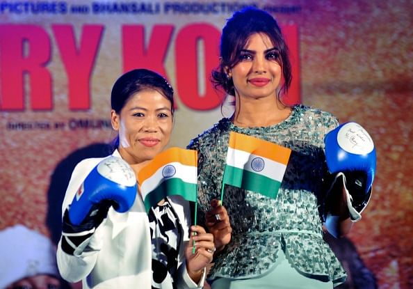 Priyanka Chopra brushes aside comparisons between her income and Mary Kom's
