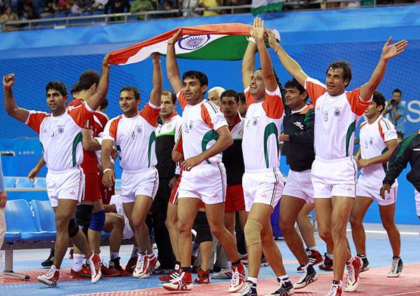 Indian kabaddi team 2014