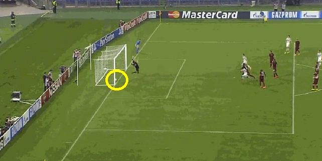 Video: No Goal Line Technology in Champions League, linesman denies CSKA Moscow a goal