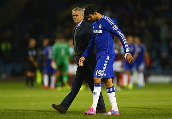 Mourinho to risk Diego Costa against both Sporting Lisbon and Arsenal