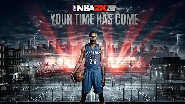 Kevin Durant says he plays NBA 2K15 as Lebron James