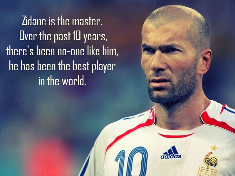 10 best quotes on Zinedine Zidane