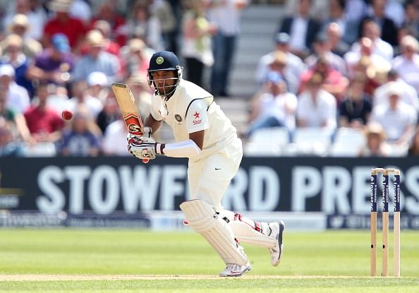 Cheteshwar Pujara guides Derbyshire to win with an attacking 90, low outing for Aaron in County
