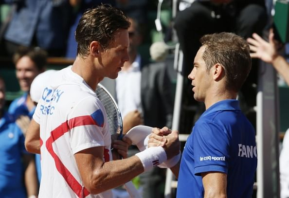Davis Cup: France take 2-0 lead over Czech Republic