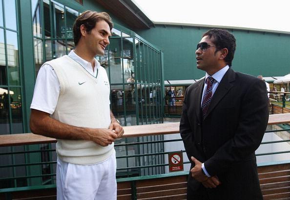 Roger Federer to meet Sachin Tendulkar in India