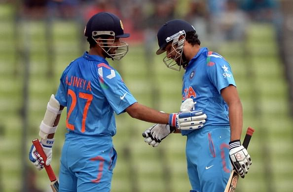 Rohit Sharma should open in 2015 World Cup ahead of Ajinkya Rahane, says VVS Laxman
