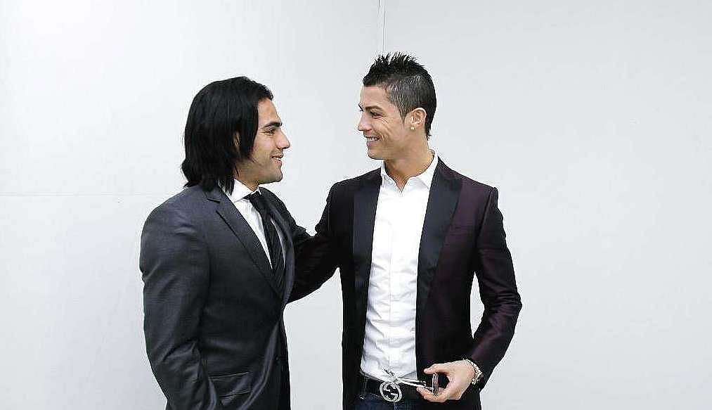 Video: Cristiano Ronaldo reacts to Manchester United signing Radamel Falcao