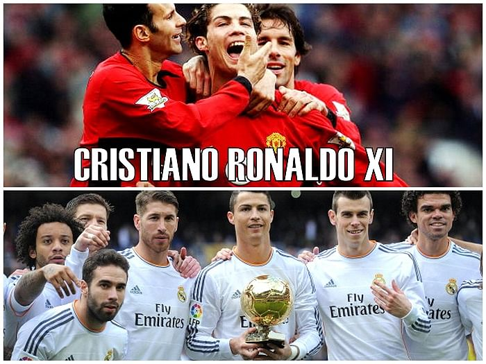 Cristiano Ronaldo XI: 10 best players he has played with