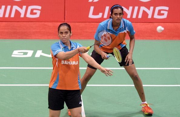 Saina Nehwal sees P. V. Sindhu as a rival