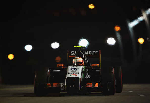 Singapore Grand Prix: Force India drivers amongst the points