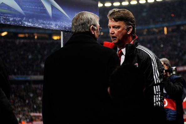What would Sir Alex Ferguson say in a letter to Louis van Gaal?